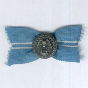 FINLAND. Mannerheim League for Child Welfare Silver Badge of Merit, numbered