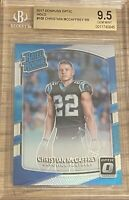 Christian McCaffrey 2017 Optic HOLO Rated Rookie #168 BGS 9.5 Silver RC PSA 10 ?