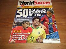 Football Magazine World Soccer November 2007 Euro 2008 Countdown Ivory Coast