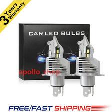 H4 LED Headlight Kit 2200W 360000LM ZES Chip Beam Bulb 6500K White Fog Light PO