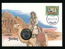 Numis-Brief 1987 aus Jordanien   (B18)