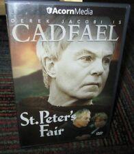 CADFAEL: ST. PETER'S FAIR DVD MOVIE, DEREK JACOBI, BRITISH DRAMA, ACORN MEDIA