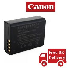 Canon LP-E10 Lithium-Ion Battery Pack (UK)