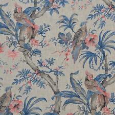 Textiles français The Birds of Prey 100% Linen Designer Print fabric