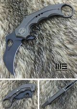 WE Knife 708E CPM S35VN Blade Titanium Frame Lock Flipper Knife