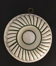ABC Bassano Decorative Mold Green White Made In Italy