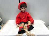 Künstlerpuppe Porzellan Puppe 58 cm. Top Zustand