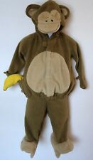Old Navy Monkey 6 12 Months Halloween Costume Fleece Two Piece Brown Warm