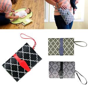 Waterproof Baby Toddler Changing Mat Pad Sheet Portable Travel Diaper 70x50cm UK
