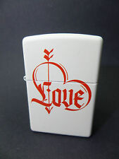 "Zippo ""Love Heart"" - White - NUEVO Y EMB. orig. - #1414"