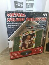 Christmas Virtual Holiday Projector Indoor Animated Window Decor Home Xmas