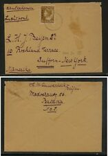 Netherlands  Indies   278   on  cover to   US        KL0903