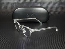 RAY BAN RX5154 2001 White Trasparent Demo Lens 49 mm Unisex Eyeglasses