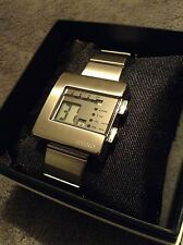 NIB Seiko Nooka Digital Watch by Matthew Waldman W524-4A00 PRISTINE CONDITION