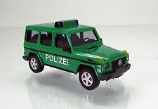 Busch 51410 Mercedes Benz G Klasse lang W463 Baujahr 1990 Polizei grün NEU 1 87