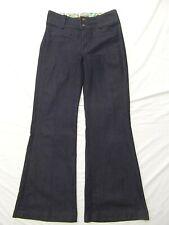 Rich & Skinny stretch denim jeans pants waist wide leg trouser boho flare 29 NEW
