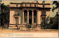 Byers Hall at Yale New Haven CT Undivided Back Glitter Vintage Postcard O17