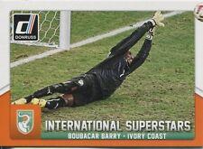 Donruss Soccer 2015 Int. Superstars Chase Card #54 Boubacar Barry
