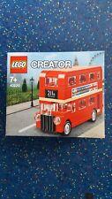 LEGO CREATOR 40220 Bus Londra esclusivo e unico RARE set di LEGO @collectible