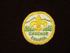 BOY SCOUT CASCADE COUNCIL 50'S YLW BDR CP OR