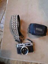 YASHICA ELECTRO 35  GS Color Yashinon DX 1:1.7 F=45mm Lens Case Strap