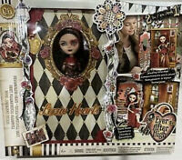 Ever After High Lizzie Hearts Spring Unsprung Book Playset with Doll  NEW