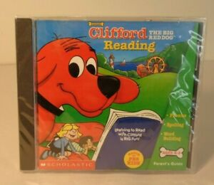 Scholastic CLIFFORD THE BIG RED DOG READING New CD ROM for PC & Mac