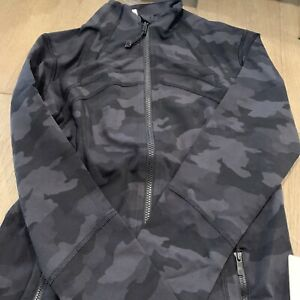 NWT auth lululemon define jacket in Heritage Camo size 10. in wrapper!
