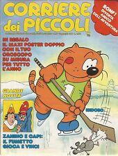 [AD10] CORRIERE DEI PICCOLI ANNO 1988 NUMERO 2 ISIDORO