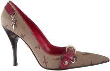 $625 CESARE PACIOTTI LUXURIOUS SIGNATURE PUMPS EU 39.5 Italian Designer Shoes