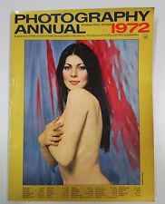 PHOTOGRAPHY ANNUAL 1972 International edition New York Ziff Davis