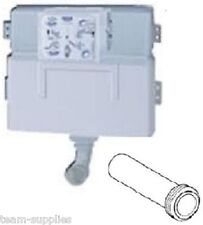 GROHE WC CONCEALED HIDDEN FLUSHING CISTERN 38422 + 37489 INLET PIPE CONNECTOR