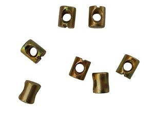 BRAND NEW REPLACEMENT M8 & M6 Barrel Nuts for Furniture,Beds,Tables,Desks,DIY