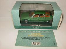 CITROEN CX 2200 PALLAS Verte 1975 Voiture de mon pere par ATLAS au 1/43