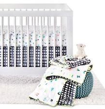 Oh Joy! for Target 4 piece Crib Set Neon Abc  Alphabet Baby Bedding New Nursery