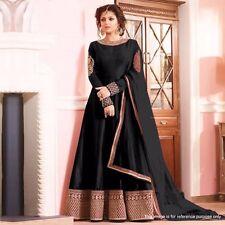 Black Salwar Kameez Indian Suit Indian Wedding Dress Fashion  Anarkali 12