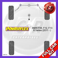 BMW F06, F12, F13 6 Series (2011 - ) Front Arm Caster Powerflex Full Bush Kit