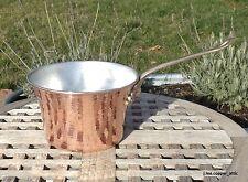 Ruffoni Hammered Copper 3-1/2 Qt Polenta Pot, Made in Italy