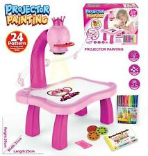 Children Art Drawing Projector Table Spotlight Painting Educational Learning Toy