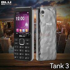 Blu Tank 3 T430 2G Dual SIM Quadband Factory Unlocked GSM Phone Gray New