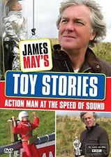 JAMES MAY (2014) TOY STORIES: ACTION MAN - AT THE SPEED OF SOUND - NEW DVD UK