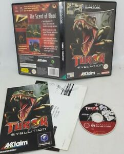 Turok Evolution nintendo gamecube includes instruction manual FAST FREE POST