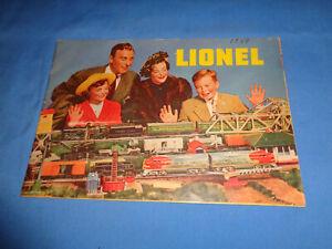 Lionel 1949 Consumer Catalog