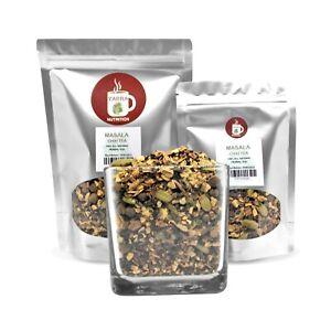 Masala Chai Tea Blend Cinnamon, Ginger, Green Cardamom Pods, Coriander, Cloves