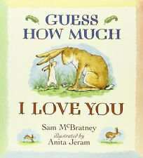 Guess How Much I Love You by Sam McBratney Book New Paperback Bedtime Story Book