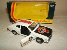 Corgi Toys Modelo No.331 Ford 3 litros Capri Gt VN MIB