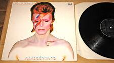 DAVID BOWIE ~ CHANGESONEBOWIE LET''S DANCE ALADDIN SANE STAGE ~ 4 UK LP RECORDS