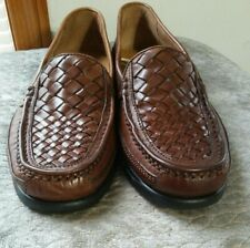 Cherokee Slip On Leather Loafers Brown Men's Size 9