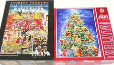 2 Puzzles-Andrews & Blaine-Charles Fazzino-Backstage Broadway & Master Pieces+++