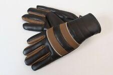 Vintage Handschuhe Fingerhandschuhe ungetragen braun Polychlorid Gr 5
